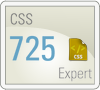 my Smarterer score for CSS